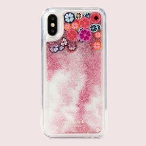 Kate Spade iPhone X/XS Liquid Glitter Case ✨